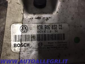 ECU CENTRALINA MOTORE VW POLO BOSCH 0261207184 0 261 207 184