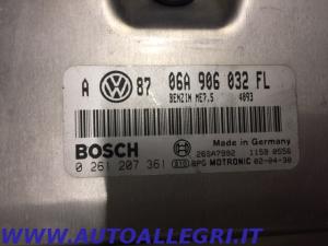 ECU CENTRALINA MOTORE VW GOLF IV BOSCH 0261207361 0 261 207 361