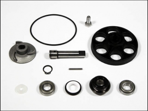 KIT REVISIONE POMPA ACQUA SCOOTER APRILIA SR DITECH SUZUKI KATANA PALE 17 MM.  AA00809