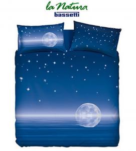 Set copripiumino Bassetti per letto singolo Magic moon Magica Luna