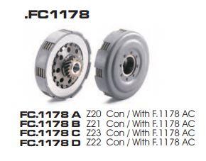 FRIZIONE COMPLETA NEW FREN VESPA PX 125-150 1^ SR.  FC1178D