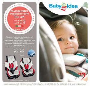 Babysanity materassino copriseggiolino rivestimento universale 9-36 15-36 Kg compatibile dinamyk foppapedretti e altri modelli in commercio related image