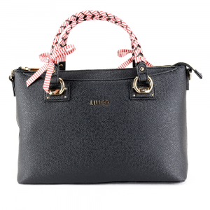 Hand and shoulder bag Liu Jo MANHATTAN GIPSY CIRCUS N19103 E0017 NERO