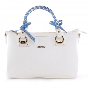 Sac à main Liu Jo MANHATTAN GIPSY CIRCUS N19091 E0017 OFF WHITE