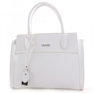 Hand and shoulder bag Liu Jo FRIVOLA N19040 E0027 OFF WHITE