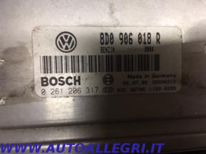 ECU CENTRALINA MOTORE VW PASSAT BOSCH 0261206317 0 261 206 317