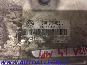 ECU CENTRALINA MOTORE SEAT IBIZA VW BOSCH 0261206959 0 261 206 959