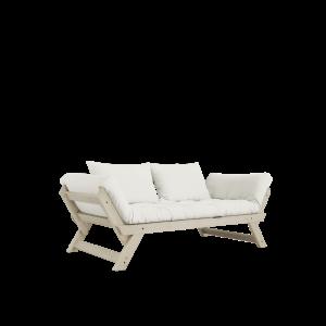 Divanetto in legno e futon Bebop
