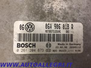 ECU CENTRALINA MOTORE VW GOLF IV BOSCH 0261204673 0 261 204 673