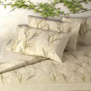 Set lenzuola matrimoniale 2 piazze Gabel ALGAE naturale puro cotone