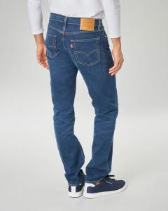 Jeans 511 lavaggio scuro con sabbiature