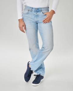 Jeans 501 original lavaggio bleach