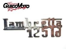 LAC154  TARGHETTA SCUDO ANTERIORE LAMBRETTA LD 125 INNOCENTI