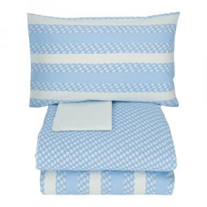 TWINSET Papillons bluette double set duvet cover set 2 squares