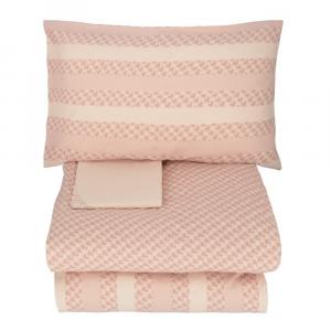 TWINSET Papillon pink double set duvet cover set 2 squares