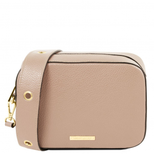 Tuscany Leather TL141733 TL Bag - Borsa a tracolla in pelle Nude