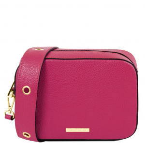 Tuscany Leather TL141733 TL Bag - Borsa a tracolla in pelle Magenta