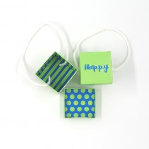Scatolina Happy Verde / Blu