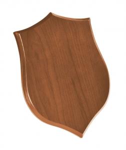 Crest scudo legno chiaro cm.19x26x1,5h