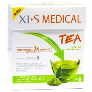 XLS MEDICAL TEA STICK CON TE' VERDE MATCHA PREMIUM
