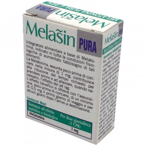 MELASIN PURA INTEGRATORE A BASE DI MELATONINA-120 COMPRESSE