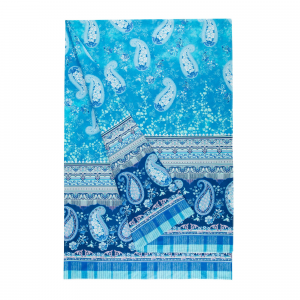 Bassetti Granfoulard furnishing cloth ANACAPRI var.3 Turquoise