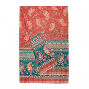 Bassetti Granfoulard furnishing cloth ANACAPRI var.1 red 4 sizes
