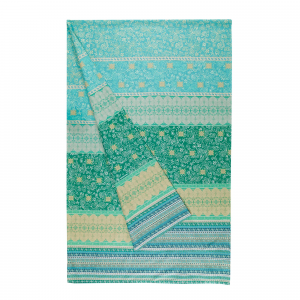 Bassetti Granfoulard furnishing cloth ATRANI var.2 green 4 sizes