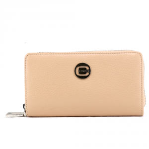 Woman wallet Cromia KISSA 2630819 CHAMPAGNE