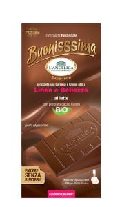 L'ANGELICA CIOCCOLATA BUONISSIMA AL LATTE - LINEA E BELLEZZA