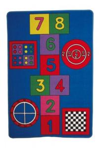 Tappeto creativo da gioco per bambini «Hopscotch»