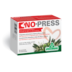 NO PRESS - INTEGRATORE SPECCHIASOL A BASE DI OLIVO E IBISCO