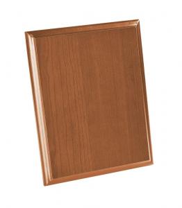 Crest rettangolare legno chiaro cm.18x23x1,5h