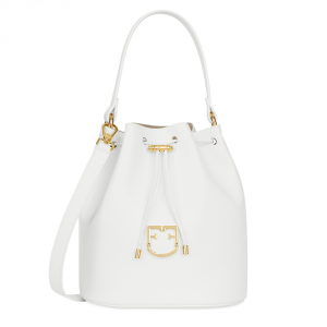 Hand and houlder bag Furla FURLA CORONA 1007827 CHALK