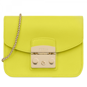 Shoulder bag Furla METROPOLIS 1007255 LIME f