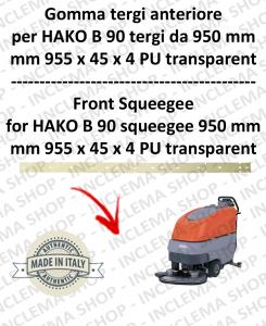 B 90 - GOMMA TERGI da 950 mm anteriore per lavapavimenti HAKO