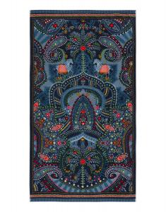 Telo mare in spugna 100x180 cm PIP STUDIO Sunrise Palms blu