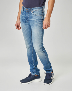 Jeans glenn lavaggio super stone wash