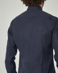 Camicia blu Jenno slim fit