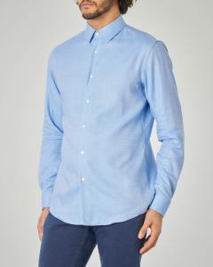 Camicia azzurra micro armatura