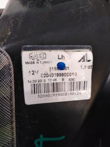 Fanale sx usato Fiat Punto Evo serie dal 2009 al 2013