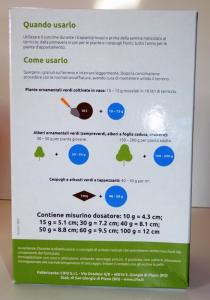 Concime Granulare per Piante Verdi