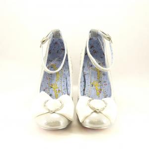 Scarpe donna argento Irregular Choice.