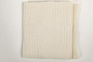 Coperta culla in maglia di cotone coll. Nanny Picci