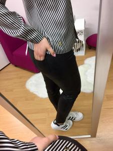 Pantalone Ecopelle Jenè
