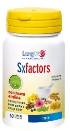 LONGLIFE SX FACTORS - INTEGRATORE ALIMENTARE TONICO