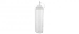 Dosatore liquidi professionale trasparente con tappo per beccuccio 680 ml