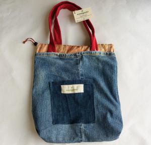 Borsa jeans a sacchetto