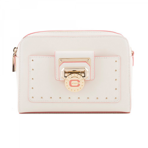 Shoulder bag Cromia NUBIA 1404185 BIANCO