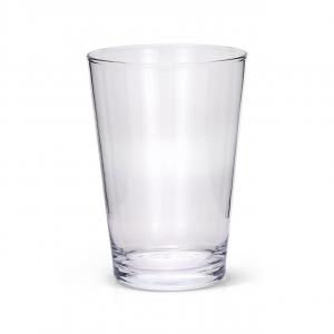 Vaso in vetro cm.20h diam.14